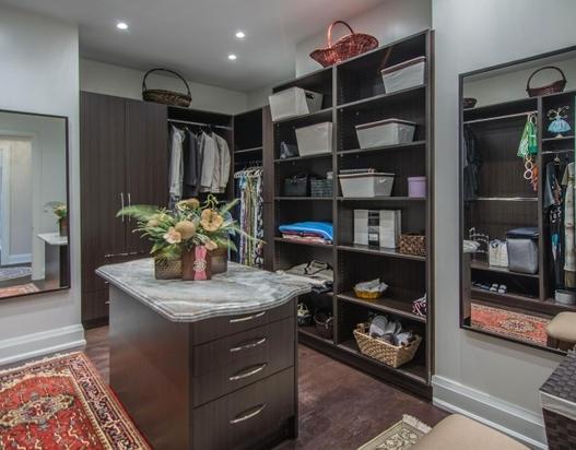 Custom Home - Closet