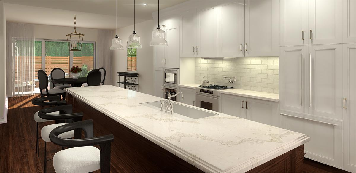 Custom Home Builder - Kitchen
