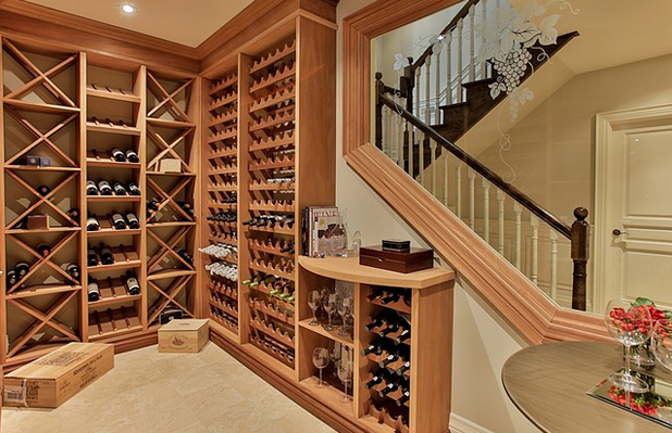 Custom Luxury Home - Wine Cellar