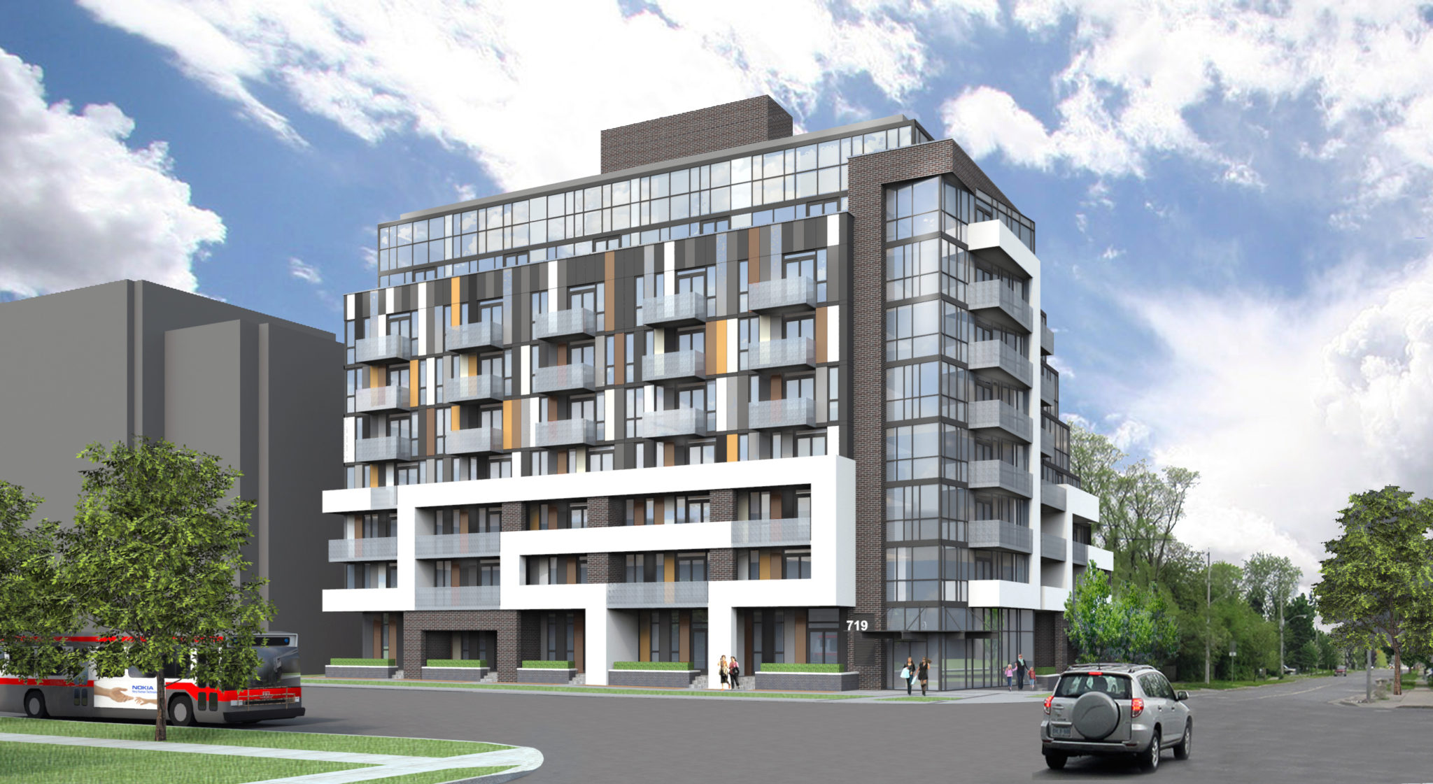 719 Sheppard Ave West - Multi Family Residential Development