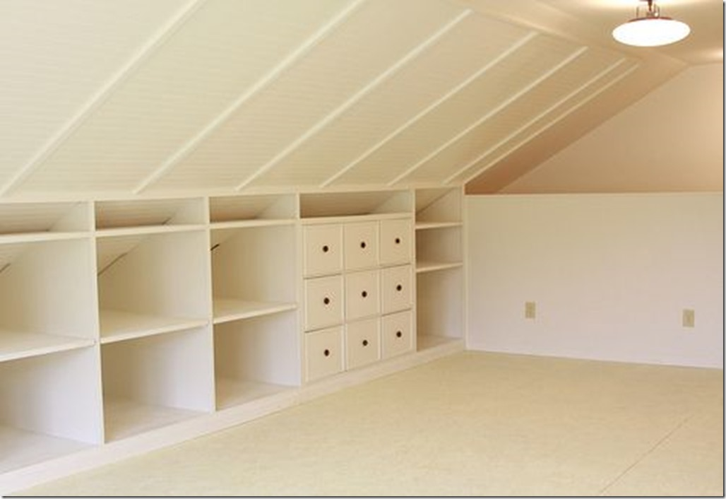 Attic Storage Sina Architectural Design Toronto Custom