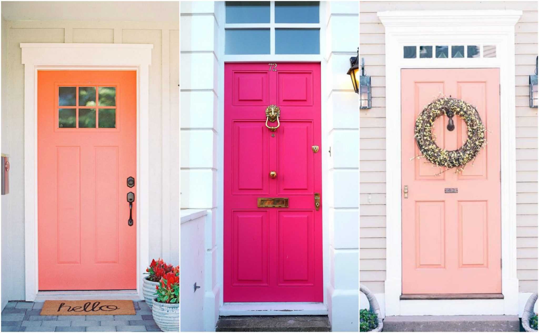 What Your Front Door Color Says About Your Home - Sina Sadeddin