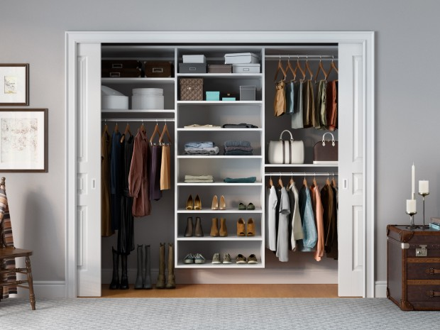 Half empty closets to sell your home