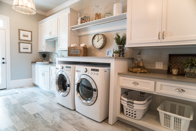 9 helpful and cool things to add to your laundry room a Laundry Room