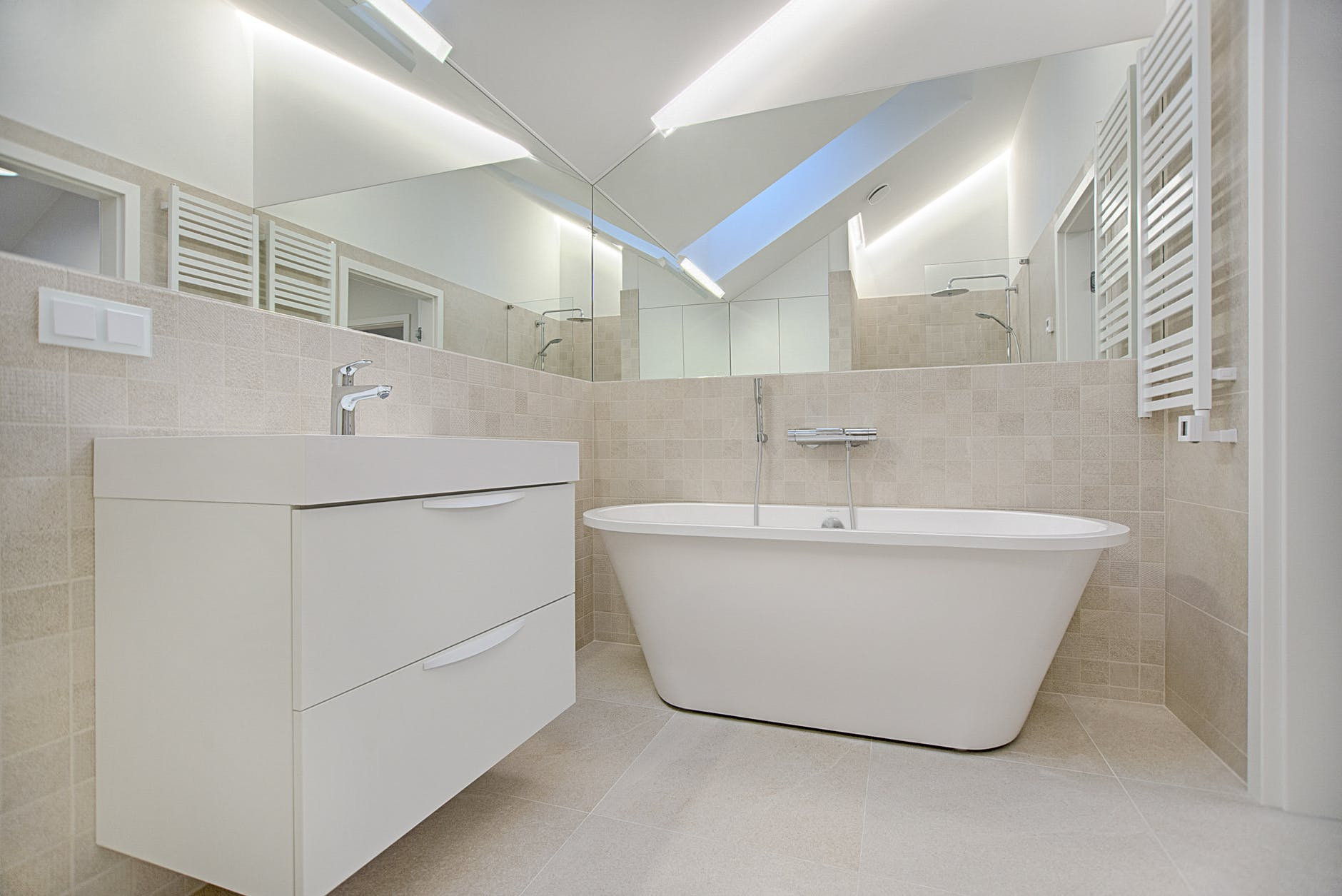 Best and Worst Flooring Options for Bathrooms- Sina Architectural Designs