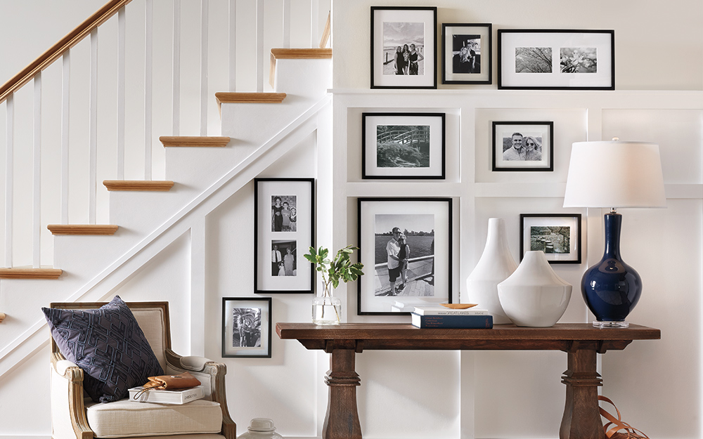 6 Tips for Creating the Perfect Gallery Wall- Sina Architectural Design