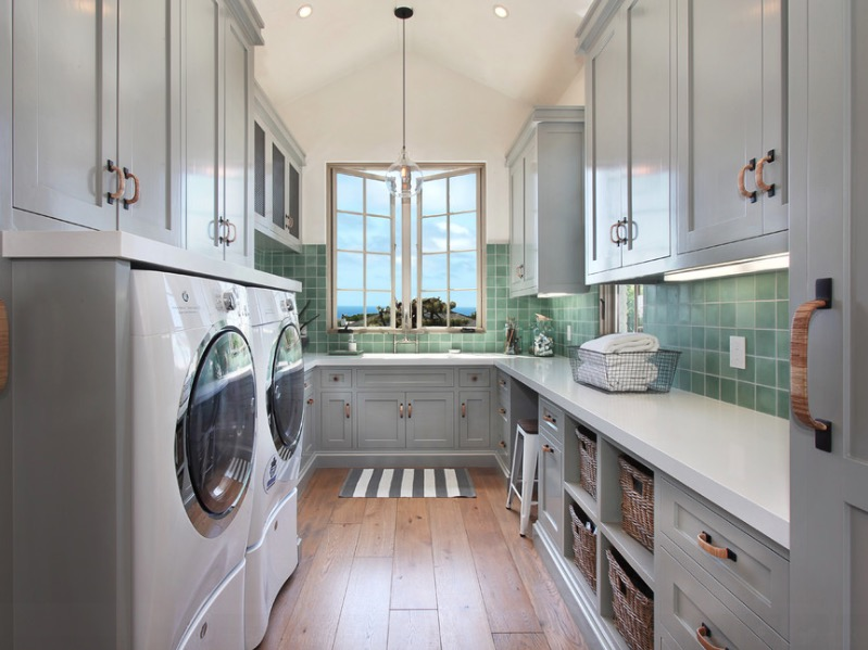 Best and Worst Flooring Options for Laundry Rooms- Sina Architectural Design